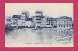 LA SEYNE SUR MER - Le Port Et La Mairie - La Seyne-sur-Mer