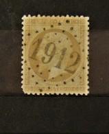 05 - 20 // France N° 21 - Oblitération GC 1912 - Labruguiere - Tarn - 1862 Napoleon III