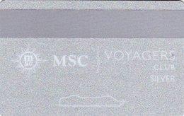 ITALIA KEY CABIN  MSC - Voyagers Club - Silver -     Shipping Company - Hotelkarten