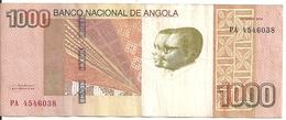 ANGOLA 1000 KWANZAS 2012 VF P 156 - Angola