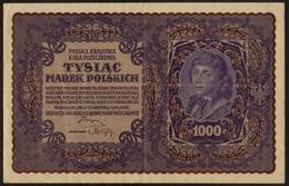 Polen / Polska Krajowa / Kasa Pozyczkowa / Tyslac / Marek Polskich / 1919 / 1 000 Marek / 249128 / 2 Scans - Poland