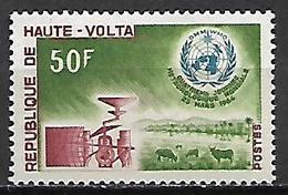 HAUTE VOLTA   -  1964  .  Y&T N°132 *.   Météorologie - Alto Volta (1958-1984)