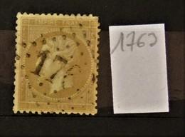 05 - 20 // France N° 21 - Oblitération GC 1763 - Hatten - Bas Rhin Ou Royas - Puy De Dôme - Indice 13 Ou 20 - 1862 Napoleon III
