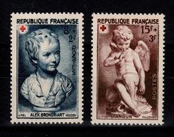 YV 876 & 877 N** Croix Rouge 1950 Cote 6 Euros - France
