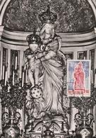 Carte Maximum - Basilique Notre-Dame-des-Victoires - Statue De La Ste Vierge à L'Autel Privilégié - Viêt-Nam