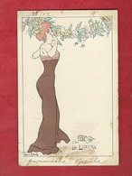 CPA   -  La Luxure     - Illustrateurs , Illustrateur  Lucien Robert  -  ( Femme  ) - Robert