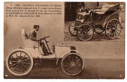 1ERE COUPE GORDON BENNETT 1900 CHARRON VAINQUEUR TROUS D EPINGLE ANIMEE - Motorsport