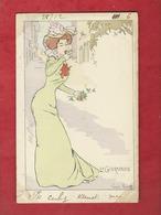 CPA   -  La Gourmandise   - Illustrateurs , Illustrateur  Lucien Robert  -  ( Femme  ) - Robert