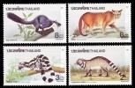 (186) Thailand / Thailande  Animals / Animaux / Tiere / Dieren / Fauna  ** / Mnh  Michel 1451-54 - Thaïlande