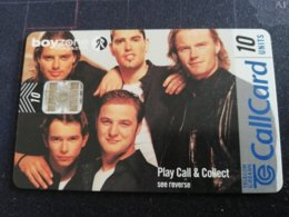 IRELAND /IERLANDE 10 Units Call Card BOYZONE MAGAZINE  CHIPCARD      ** 2122** - Ierland