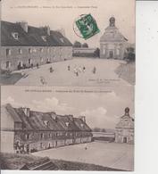 39 SALINS LES BAINS  -  Intérieur Du Fort Saint-André    2 CARTES  - - France