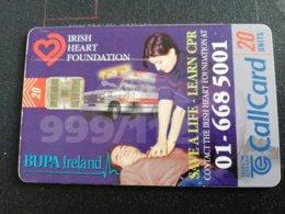 IRELAND /IERLANDE 20 Units IRISH HEART FOUNDATION  CHIPCARD      ** 2124** - Ierland