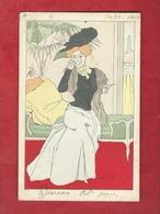 CPA   -  Le Gout   - Illustrateurs , Illustrateur  Lucien Robert  -  ( Femme   ) - Robert