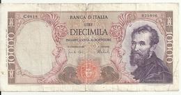 ITALIE 10000 LIRE 1973 VG+ P 97 F - 10000 Liras