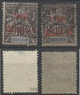 INDOCHINE Colis Postaux CP N° 4 Et 4a - Voir Photo Pour état Du Timbre - Indochina (1889-1945)