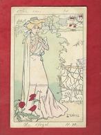 CPA   -  L'Envie   - Illustrateurs , Illustrateur  Lucien Robert  -  ( Femme    ) - Robert