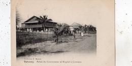 BENIN (DAHOMEY) PALAIS DU GOUVENEUR ET HOPITAL A COTONOU - Benin
