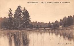 25 . N°205272. Pontarlier. Le Lac De Saint Point à La Passerelle - Pontarlier