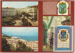 Carte-Maximum ALGERIE N° Yvert 580 (MILLENAIRE D'ALGER) Obl Sp Ill Phil 1975 - Algerien (1962-...)