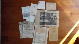 Vieux Documents MONACO  (publicités ,menu ,programme ......) - Publicités