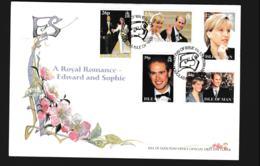 Isle Of Man FDC 1999 A Royal Romance - Edward And Sophie (NB**LAR9-97) - Man (Insel)