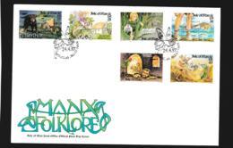 Isle Of Man FDC 1997 Manx Folklore (NB**LAR9-97) - Man (Insel)