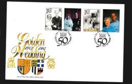 Isle Of Man FDC 1997 Golden Wedding (NB**LAR9-97) - Man (Insel)