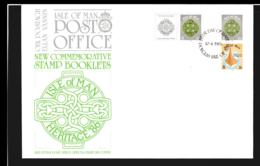 Isle Of Man FDC 1985 Stamp Booklet (NB**LAR9-97) - Man (Insel)