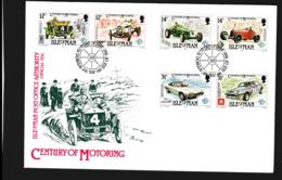 Isle Of Man FDC 1985 Century Of Motoring  (NB**LAR9-97) - Man (Insel)
