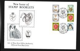 Isle Of Man FDC 1980 Stamp Booklet (NB**LAR9-97) - Man (Insel)