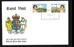 Isle Of Man FDC 1979 Royal Visita (NB**LAR9-97) - Man (Insel)
