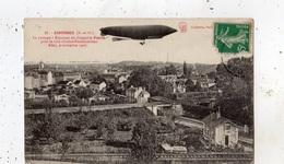 ESSONNES PASSAGE A ESSONNES DU DIRIGEABLE PATRIE POUR LE RAID CHALAIS FONTAINEBLEAU ALLER 9 NOVEMBRE 1907 - Essonnes