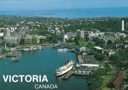 1 AK Kanada British Columbia * Blick Auf Victoria - Die Hauptstadt Der Provinz British Columbia - Luftbildaufnahme * - Victoria