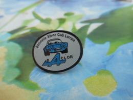 A057 -- Pin's Berlinette Alpine Club Lorrain - Baclor - Rare !! - Pin's