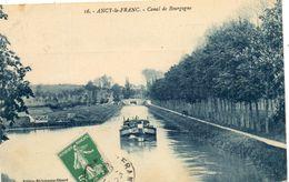- ANCY Le FRANC -  Le Canal De Bourgogne  (péniche)   -16892- - Ancy Le Franc