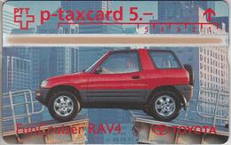 SUISSE - PHONE CARD - TAXCARD-PRIVÉE  ***  TOYOTA & RAV4  *** - Switzerland