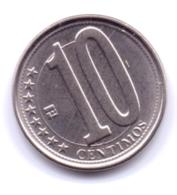 VENEZUELA 2009: 10 Centimos, Y# 89 - Venezuela