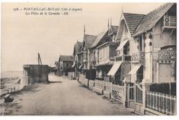 CPA PONTAILLAC-ROYAN ..LES VILLAS DE LA CORNICHE.. TBE SCAN.. - Royan