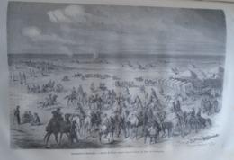 Campement A Homoutch -  Desert GOBI -  CHINA Chine Chinese - Engraving 1864 TDM1864.2.333 - Estampas & Grabados