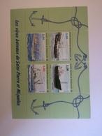 St.Pierre & Miquelon - 1996 - ** , MNH , Postfrisch , Mi.Nr. Block 4 (712 -715) - St.Pedro Y Miquelon