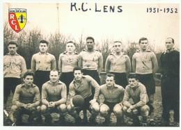 Lens (62) équipe RC Lens 1951-52 Football Team - Lens