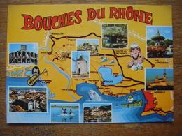 France - Le Département Des BOUCHES DU RHONE (13) -(Arles-Stes Maries De La Mer-Marseille-Aix En Provence-Salon De ...) - Non Classés