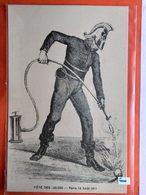 CPA.Métiers. Sapeur Pompier .Fête Des 100.000 . Paris - 13 Août 1911. (D1.538) - Pompieri