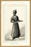 Persia Perse Persien Iran Agha Mohammad Khan Qajar Antique Engraving 1841 Y. - Estampas & Grabados