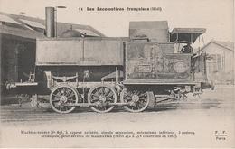 AK Les Locomotives Francaises Midi 51 Locomotive Machine No 453 Autriche Chemin De Fer - Eisenbahnen