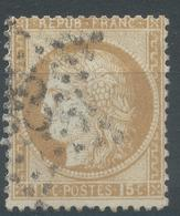 Lot N°55607  N°55, Oblit étoile Chiffrée 33 De PARIS ( Gare D'Oléans) - 1871-1875 Cérès