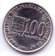 VENEZUELA 2004: 100 Bolivares, Y# 83 - Venezuela