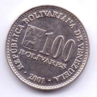 VENEZUELA 2001: 100 Bolivares, Y# 83 - Venezuela