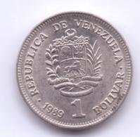 VENEZUELA 1989: 1 Bolivar, Y# 52 - Venezuela