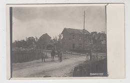 Langemark  Langemark-Poelkapelle   FOTOKAART  Bahnhof  En Omgeving Tijdens De Eerste Wereldoorlog  STATION STATIE - Langemark-Poelkapelle